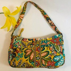 Vera Bradley Provincial Print Top Zip Handbag